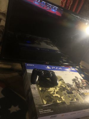 Ps4 + TV bundle for Sale in Long Beach, CA