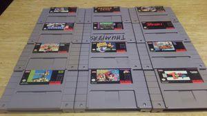 12 Super Nintendo Games for Sale in Aberdeen, WA