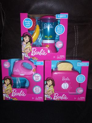 Barbie kitchen toy for Sale in Riverside, CA