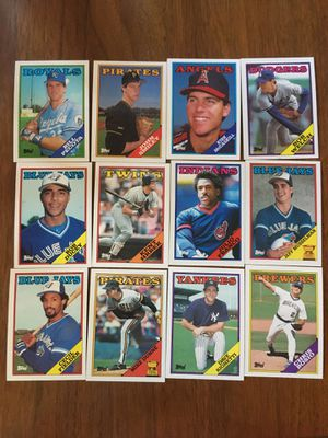 12, 1988 Topps Baseball Cards FOR SALE for Sale in McKinney, TX