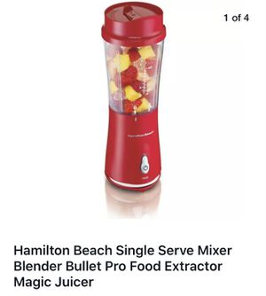 Hamilton Beach single serving drink from the cup smoothie juice blender for Sale in Los Angeles, CA