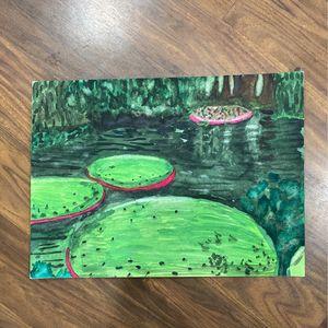 (Watercolor) Creepy lagoon 11x15 for Sale in Hayward, CA