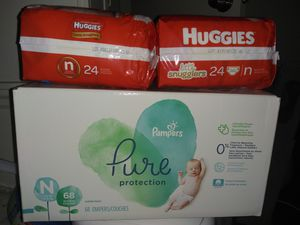 Newborn diapers for Sale in Moreno Valley, CA