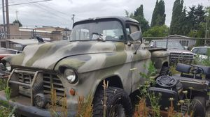 1955 1/2 Chevy 4x4 Truck for Sale in Orting, WA