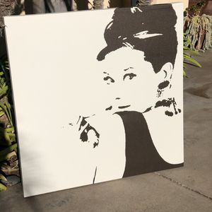 Audrey Hepburn Iconic Image for Sale in San Diego, CA