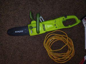 Sun joe chainsaw for Sale in Federal Way, WA