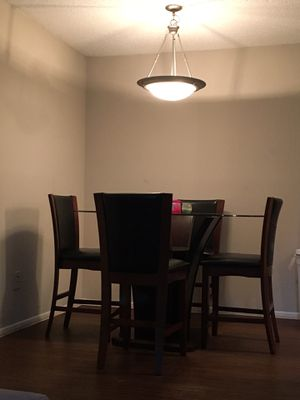 Dining table and couch ask for each thing for Sale in Meadows Place, TX