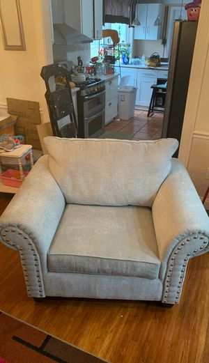 Artisan Blue Oversized Chair for Sale in Silver Spring, MD