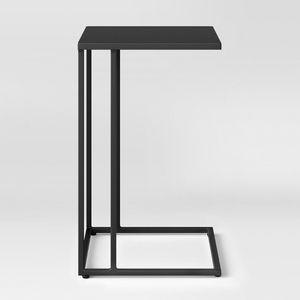 Black Matte C-shaped Table for Sale in Washington, DC