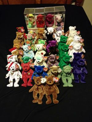 42 Retired Beanie Baby Bears for Sale in Columbus, OH