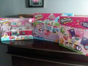 New shopkin toy all 3 for $30 obo for Sale in Fresno, CA