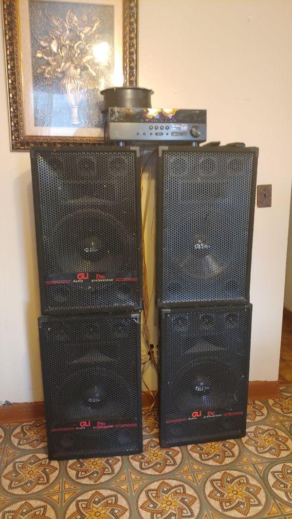 GLI pro audio professional all 4. 15voice new for $200