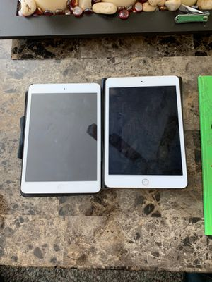 Ipad MINI special 2 for 1$$ !!! (Must buy both)IPAD MINI (2)-unlocked IPAD MINI {1)-icloudlocked for Sale in Forest Heights, MD