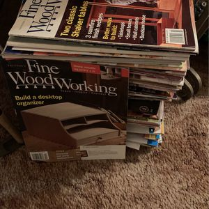 Wood Worker Magazines 4-5 Years Worth for Sale in Fort Pierce, FL