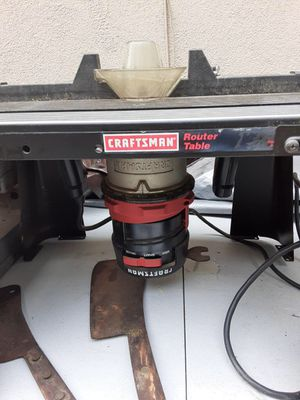 Craftsman Router Table & Router for Sale in Whittier, CA