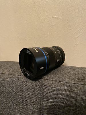SIRUI ANAMORPHIC 50mm lens w/ E Mount for Sale in New York, NY
