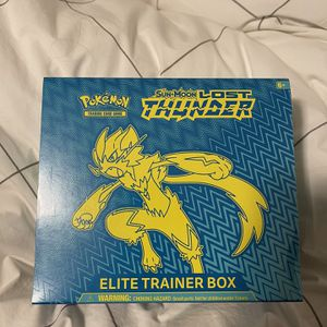 Lost thunder elite trainer box, pokémon cards for Sale in Portland, OR