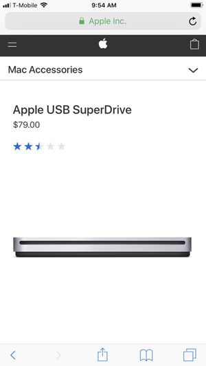 Apple USB SuperDrive for Sale in Baltimore, MD