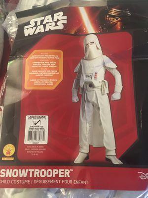 Snow trooper deluxe costume for Sale in Davie, FL
