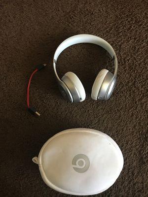 Beats solo wireless grey & white for Sale in Goshen, IN