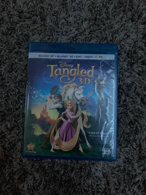 Disney Tangled 3-D, Blu-Ray, 2-D+ Digital Copy for Sale in Phoenix, AZ