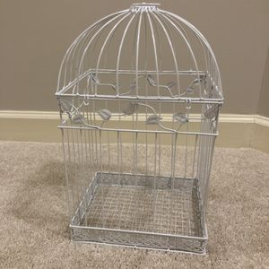 Bird Cage - White for Sale in Fairfax, VA