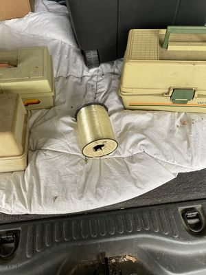 4 fishing tackle boxes for Sale in Glenview, IL
