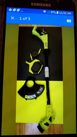 RYOBI ONE+ 18V TRIMMER/EDGER CORDLESS for Sale in Beaumont, CA