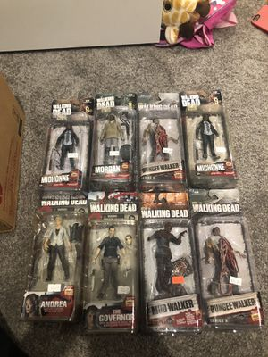 The walking dead action figure lot for Sale in Apollo Beach, FL