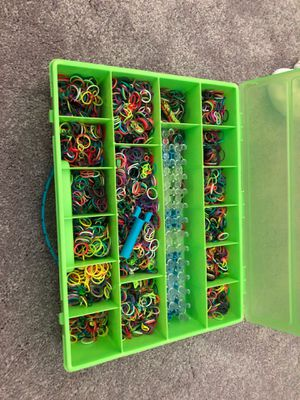 Rainbow Loom with lots of bands for Sale in Naples, FL