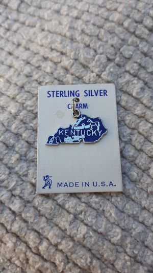 Kentucky Vintage Sterling Silver Charm for Sale in Chandler, AZ