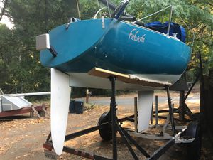 Wilderness 21 Sailboat with Trailer for Sale in Felton, CA