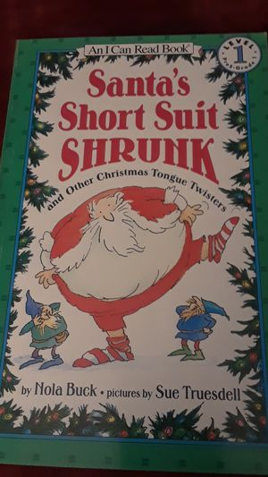 Santa's Short Suit Shrunk: And Other Christmas Tongue Twisters for Sale in Renton, WA