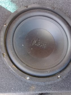 SUBWOOFER 10 400w POWER BASS for Sale in Santee,  CA