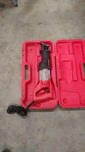 MILWAUKEE 12 AMP CORDED SAW ZALL for Sale in San Bernardino, CA