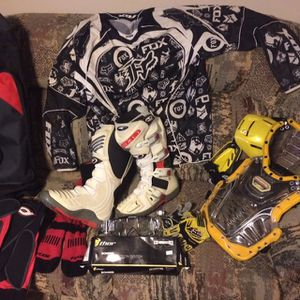 Motocross Boots and Gear Like New for Sale in Rolling Meadows, IL