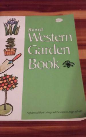 Western Garden Book for Sale in Graham, WA