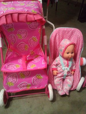All for $40 jumbo baby jumbo car seat and stroller location Palmdale California for Sale in Palmdale, CA