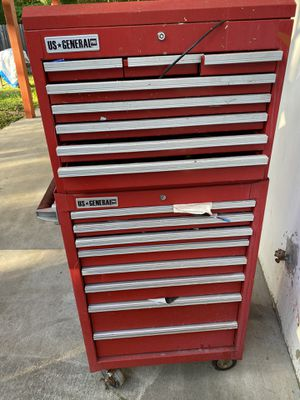Tool box pro 2 piece in new condition for Sale in Silver Spring, MD