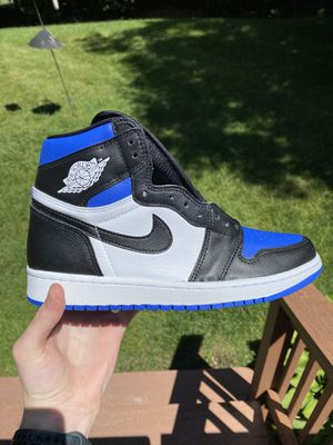 DS Jordan 1 Retro High Royal Toe Size 9 for Sale in Cumberland, RI