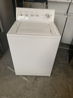 Washer brand kenmor everything is good working condition 90 days warranty for Sale in San Leandro, CA