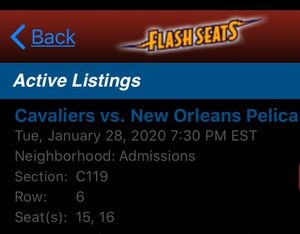 Cavs vs Pelicans for Sale in New Orleans, LA