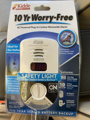 Kiddie carbon monoxide and smoke detector for Sale in Hudson, OH