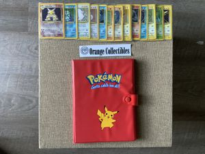 Pokemon Card Near Complete Base Set WOTC 101/102 Missing Charizard!! 15 Holos! LP/P OBO! for Sale in Anaheim, CA