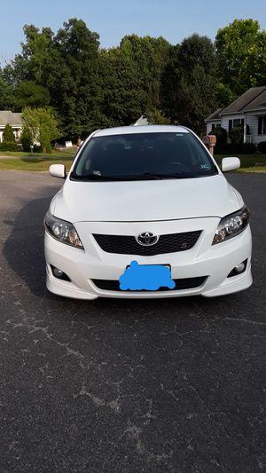 Toyota corola s 2009 millas 121391 $5,000 for Sale in Midlothian, VA
