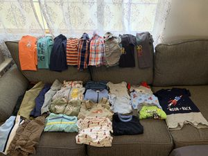Lot of 30 Clothes for Toddler Baby Boy 18 & 18-24 Months Pants Shorts Shorts for Sale in Corona, CA
