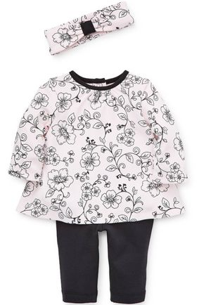 NEW- BEAUTIFUL Rose Toile Tunic Set (9months) for Sale in Miami, FL