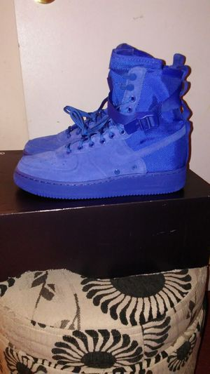 Nike SF Air Force 1 Royal Blue Size 8, 9, 9.5, 11, 12, 13 and 14 for Sale in San Leandro, CA