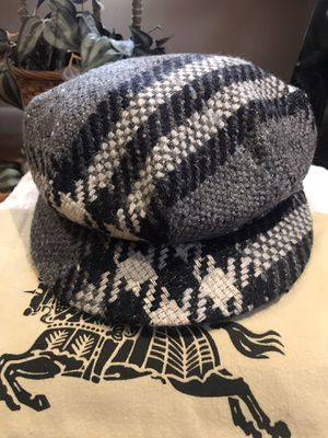 Authentic Burberry Wool Newsboy Cap for Sale in Warwick, RI
