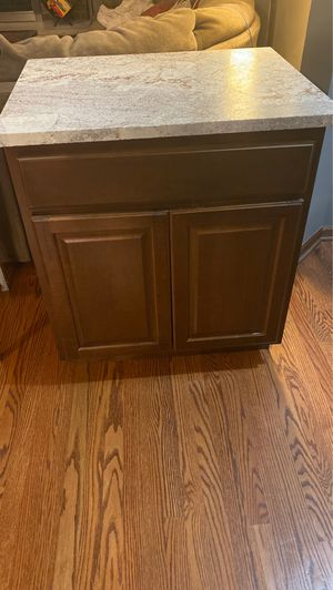 Base cabinet maple kitchen bathroom storage W30xH34.5xD24 for Sale in Downers Grove, IL